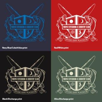 Tokyo Fly Fishing & Country Club – Organic Cotton T-shirt | 東京フライフィッシング&カントリークラブ オーガニックコットンTシャツ