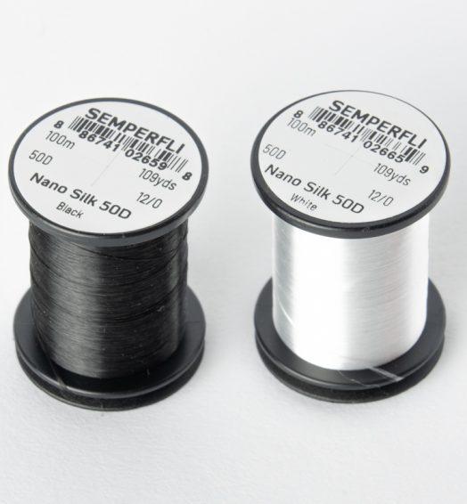 Semperfli – ナノシルク 12/0 ファインGSPスレッド 100m