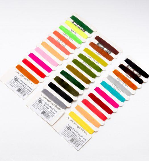 Semperfli – マルチカード:スエードシェニール 10色セット コレクション