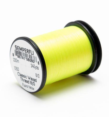Semperfli – クラシックワックス 8/0 UVカラースレッド 220m
